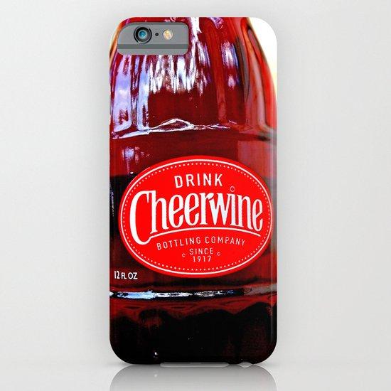 Classic Cheerwine iPhone & iPod Case