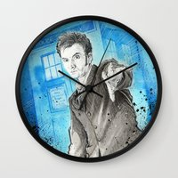 Doctor Who: The 10th Doc… Wall Clock