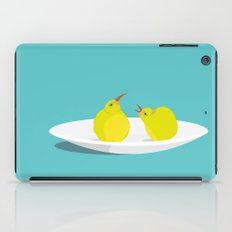 A Pear of Birds iPad Case