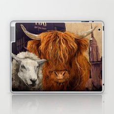 Sheep Cow 123 Laptop & iPad Skin