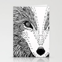 wolf like me Stationery Cards