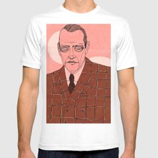 Nucky Thompson White SMALL Mens Fitted Tee