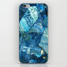 Labradorite Blue iPhone & iPod Skin