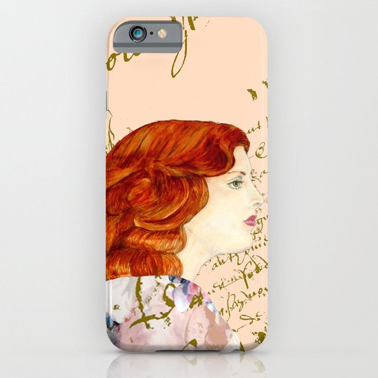 I love Redheads iPhone & iPod Case