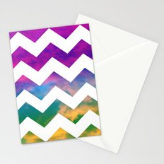 Lucky Chevron Stationery Cards