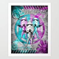 Star Wars Disposable Her… Art Print