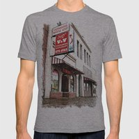 Vietnamese restaurant Mens Fitted Tee Athletic Grey SMALL