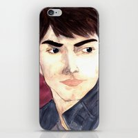 Grimm - Nick Burkhart iPhone & iPod Skin