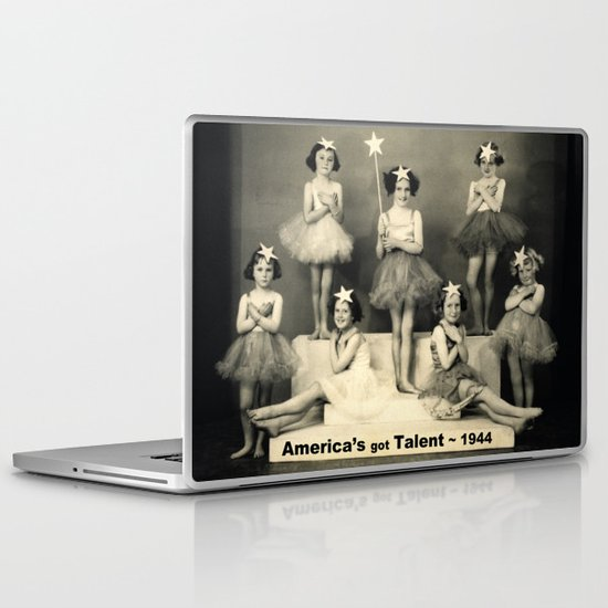 "America's got talent ~ 1944 ""The Play""  Laptop & iPad Skin"