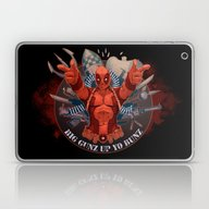Deadpool Laptop & iPad Skin