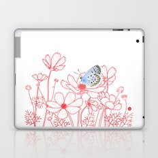 Cosmos and Butterfly Laptop & iPad Skin