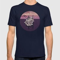 Hogwarts series (year 5: the Order of the Phoenix) Mens Fitted Tee Navy SMALL