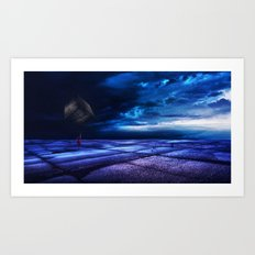 Mysterious Places Art Print