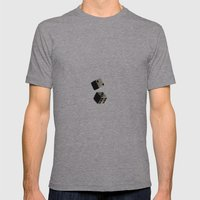 Dice Mens Fitted Tee Athletic Grey SMALL