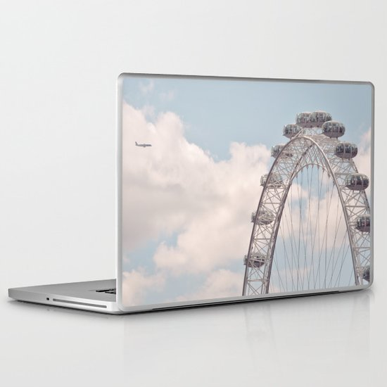 wheely small plane... Laptop & iPad Skin