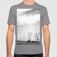 Arizona Mens Fitted Tee Tri-Grey SMALL