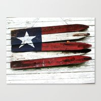 The Grand Ol' Wooden Fla… Canvas Print