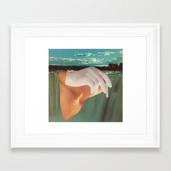"""""""hers"""" Framed Art Print"""