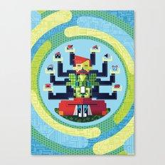 Technology Hub Canvas Print