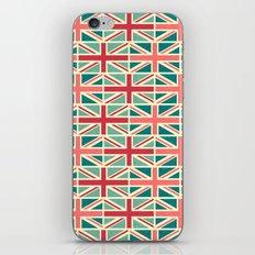 British/UK Flag Pattern iPhone & iPod Skin