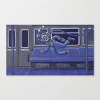 Subway Bends Canvas Print