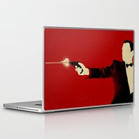 Laptop & iPad Skin featuring The Double Agent by The Art of Danny Haas