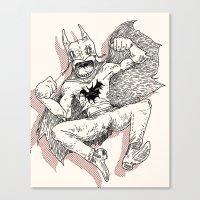 Vigilante  Canvas Print