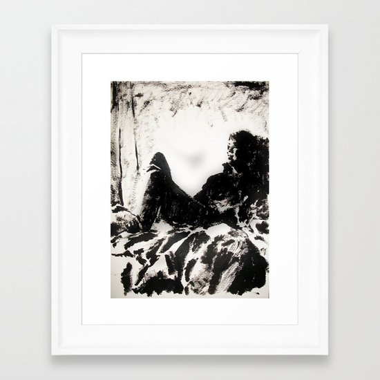 La Janja Vestida Framed Art Print