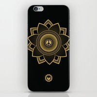 Peace Lotus iPhone & iPod Skin