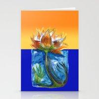 Wild Lotus Stationery Cards