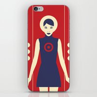 Isolde Red iPhone & iPod Skin