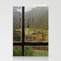 Droplet Landscape III Stationery Cards