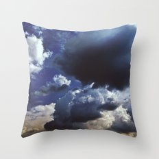 Clouds above Versailles Throw Pillow