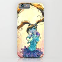 iPhone Cases featuring Panty Vigilante #1 by Erica Batton
