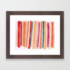Stripes I Framed Art Print