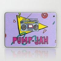 pump the jam Laptop & iPad Skin