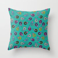 Donut Lickin's Throw Pillow