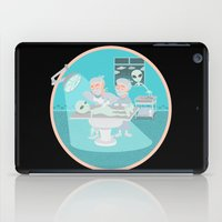 alien autopsy iPad Case
