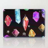 Crystals and Glitter Stars iPad Case