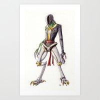 the mutant Art Print