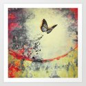 Waterfly III Art Print