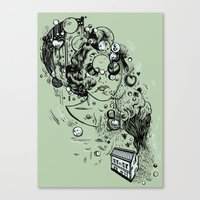 Hidden Home Canvas Print