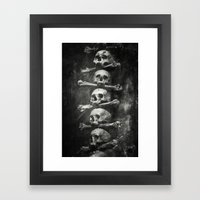 Once Were Warriors VI. Framed Art Print