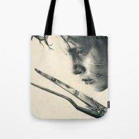 Edward Scissorhands ~ Jo… Tote Bag