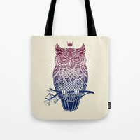 Warbird (Great-horned Ow… Tote Bag