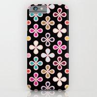 Drop Flower #3 iPhone 6 Slim Case
