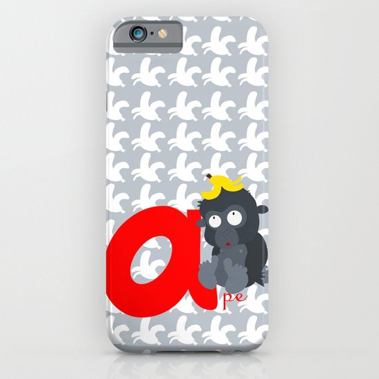 a for ape iPhone & iPod Case