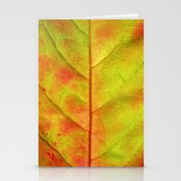 Autumn Colors III Stationery Cards