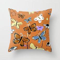 Butterflies Butterflies Throw Pillow