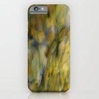 Abstract Green iPhone 6 Slim Case